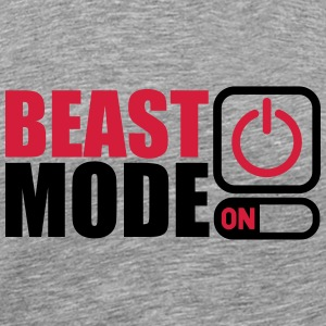 Beast Mode On Power An T-Shirts - Männer Premium T-Shirt