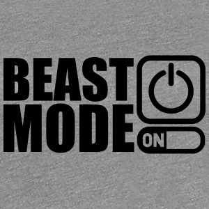 Beast Mode On Power An T-Shirts - Frauen Premium T-Shirt