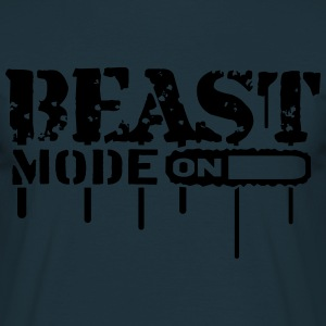 Beast Mode On An Graffit T-Shirts - Männer T-Shirt