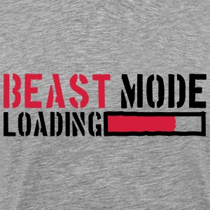Beest-modus laden Power T-shirts - Mannen Premium T-shirt