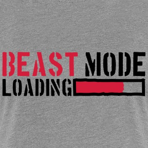 Beest-modus laden Power T-shirts - Vrouwen Premium T-shirt