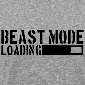 Beast Mode Loading Power T-Shirts - Männer Premium T-Shirt