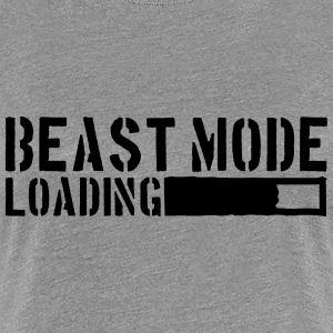 Beast Mode Loading Power T-Shirts - Frauen Premium T-Shirt