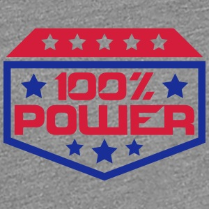 Wappen Logo 100 % Power T-Shirts - Frauen Premium T-Shirt