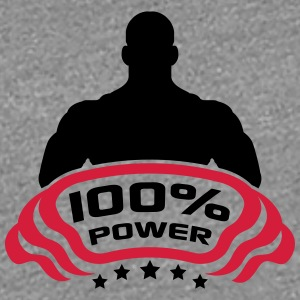 Cool Logo Design 100% Power T-shirts - Vrouwen Premium T-shirt
