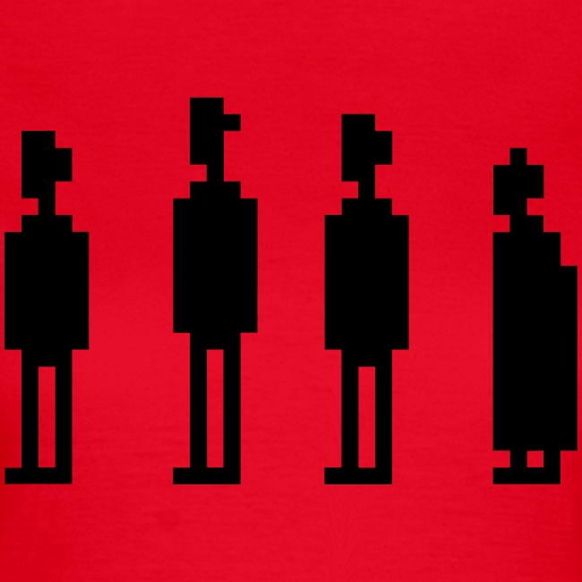 The Four Witnesses - Women - Red