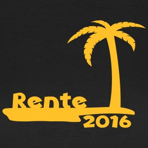 Rente Pension Ruhestand 2016 T-Shirts - Frauen T-Shirt