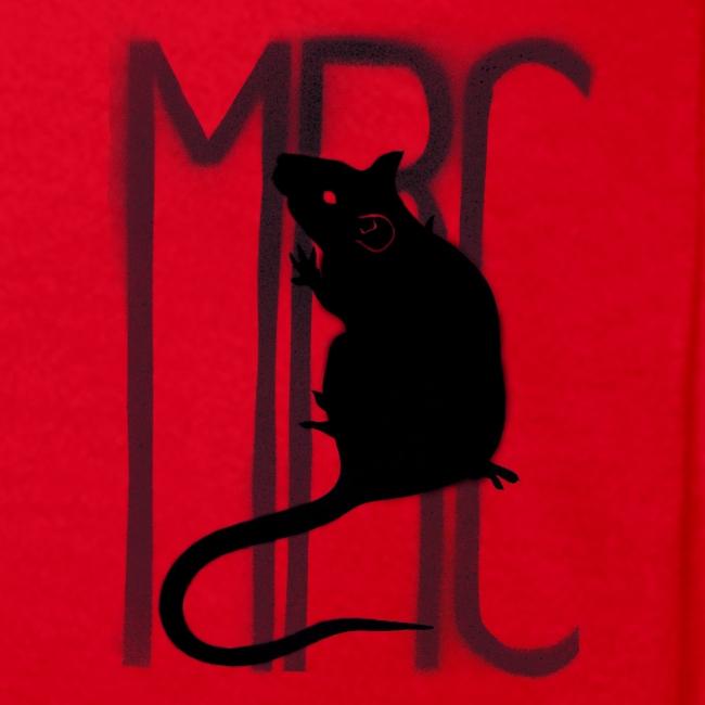 Teenagers' t-shirt with black MRC rat