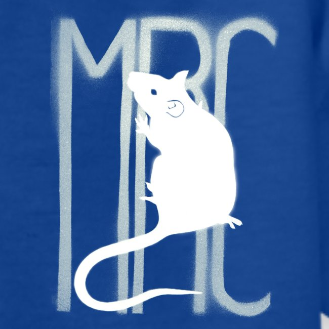 Teenagers' t-shirt with white MRC rat