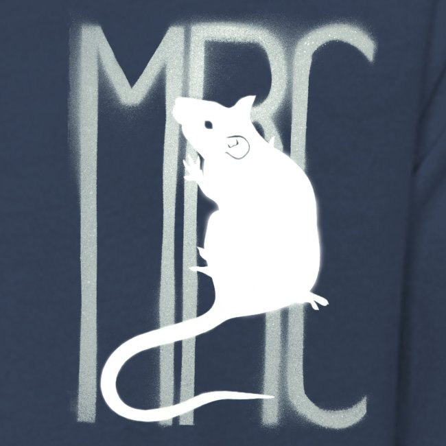 Teenagers' premium long sleeve shirt with white MRC rat