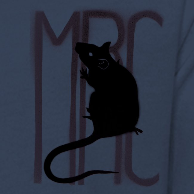 Teenagers' premium long sleeve shirt with black MRC rat