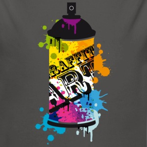 A spray can in graffiti style  Hoodies - Longlseeve Baby Bodysuit