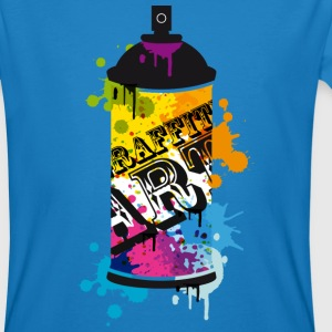 A spray can in graffiti style  T-Shirts - Men's Organic T-shirt