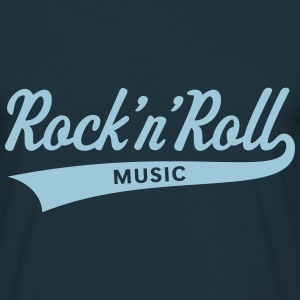 Rock 'n' Roll – Music T-Shirts - Männer T-Shirt