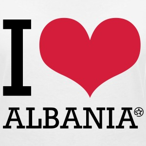I LOVE ALBANIA - Women's V-Neck T-Shirt