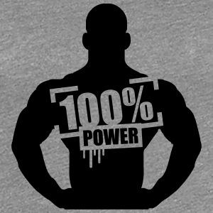 100% Power Guy Stempel T-Shirts - Women's Premium T-Shirt