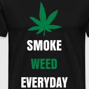 Smoke weed everyday - Männer Premium T-Shirt
