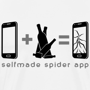 selfmade spider app T-Shirts - Men's Premium T-Shirt