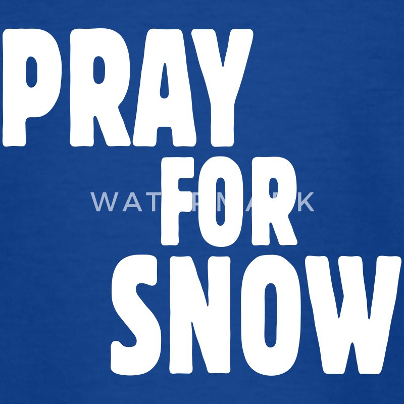 pray for snow T-Shirts - Kinder T-Shirt