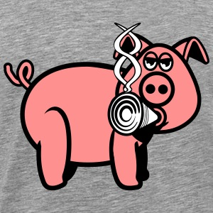 Pork smoke joint T-Shirts - Men's Premium T-Shirt