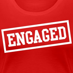 Engaged Box T-Shirts - Women's Premium T-Shirt