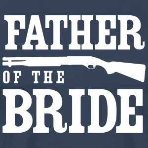 Father of the Bride Shotgun T-Shirts - Men's Premium T-Shirt