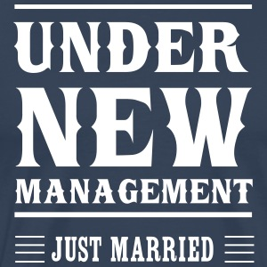 Under New Management Just Married T-Shirts - Men's Premium T-Shirt