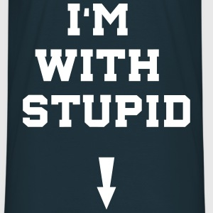 i'm with stupid T-Shirts - Männer T-Shirt