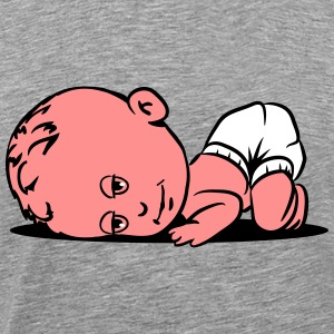 Baby sleeping T-Shirts - Men's Premium T-Shirt