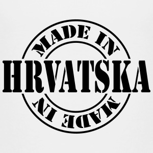 made_in_hrvatska_m1 T-shirts - Børne premium T-shirt