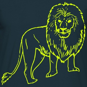 African Lion - T-shirt Homme