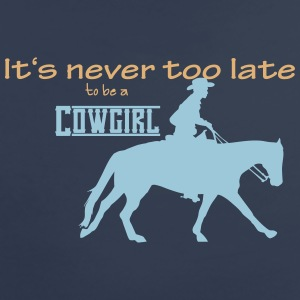 Never too late - Cowgirl T-Shirts - Frauen Premium T-Shirt