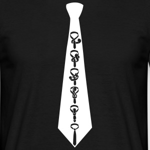 Tie tie on tie T-Shirts - Men's T-Shirt