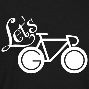 Let´s Go (Bike) T-skjorter - T-skjorte for menn