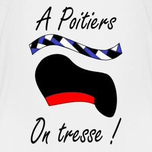 A Poitiers, on tresse ! T-Shirts - Kinder Premium T-Shirt
