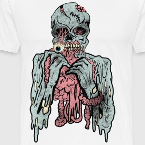 Scary Cannibal Zombies  - Men's Premium T-Shirt