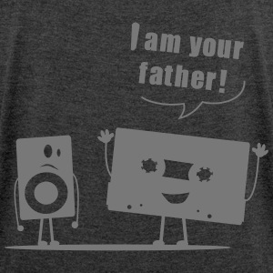 T-shirt femme (woman) I am your father - Women's T-shirt with rolled up sleeves