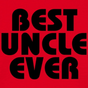 Best Uncle ever T-shirts - Mannen T-shirt