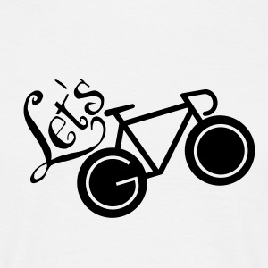 Let´s Go (Bike) T-shirts - Herre-T-shirt