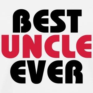 Best Uncle ever T-shirts - Mannen Premium T-shirt
