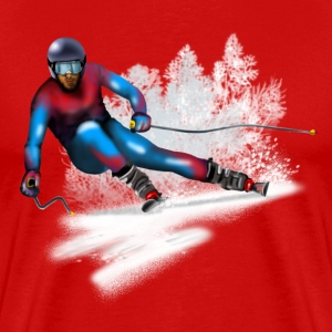 skiing T-Shirts - Men's Premium T-Shirt