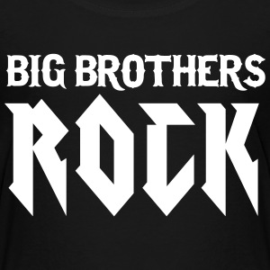 Schwarz Big Brothers Rock T-Shirts - Kinder Premium T-Shirt
