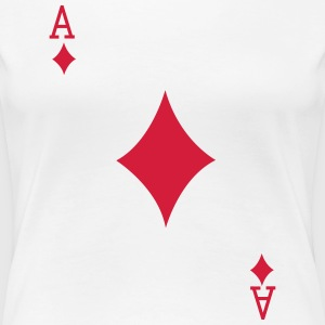 Ace Playing Card T-Shirts - Women's Premium T-Shirt
