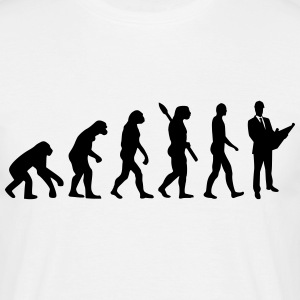 Evolution Architekt T-Shirts - Männer T-Shirt