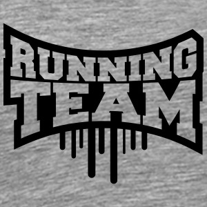 Cool Running Team Graffiti T-shirts - Mannen Premium T-shirt