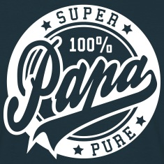 100 percent PURE SUPER PAPA T-Shirts