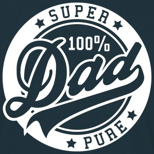 100 percent PURE SUPER DAD Tee shirts - T-shirt Homme