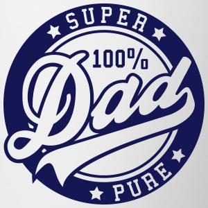 100 percent PURE SUPER DAD Bottles & Mugs - Mug