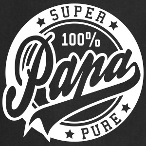 100 percent PURE SUPER PAPA  Aprons - Cooking Apron