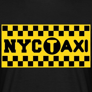 new york city taxi  Tee shirts - T-shirt Homme